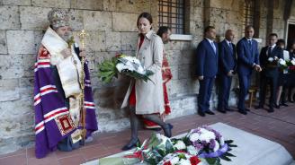 Ева Майдел: Преди 110 години във Велико Търново България се утвърждава на световната карта