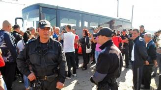 Отново протест на работници на Миню Стайков, нападнаха митнически екип (обновена)