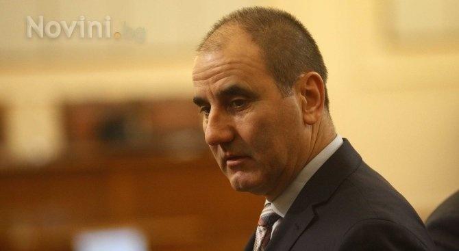 Председателят на Комисията по вътрешна сигурност и обществен ред и