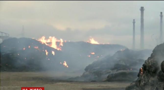 Повече от три пожара гасят сливенските огнеборци в момента, като