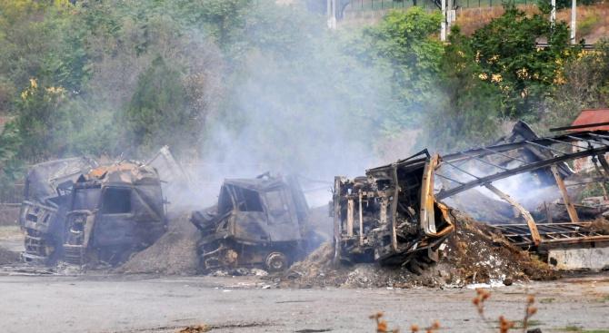 Пет тира са пострадали при пожар тази нощ край Айтос
