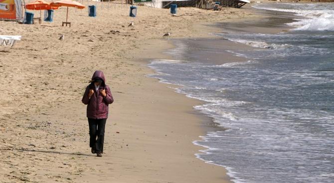 Плажовете в морската столица през вчерашния ден бяха все още