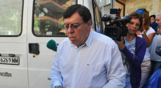 Скандалният бизнесмен от БСП Бенчо Бенчев, който бе задържан като