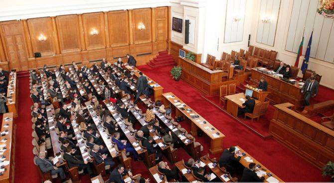Парламентът ще гласува на второ четене промени в Закона за
