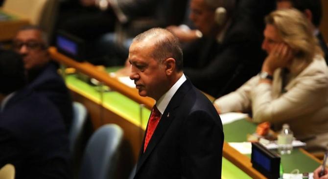 Ердоган напусна Общото събрание на ООН докато Тръмп говори (видео)