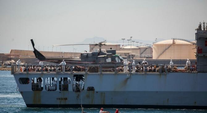 Малта обяви днес, че ще позволи на 58-те мигранти, спасени