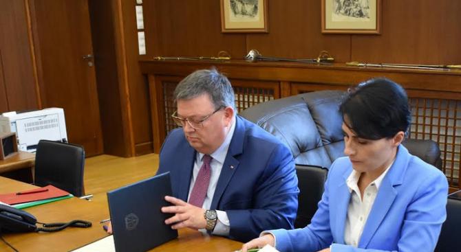Главният прокурор на България г-н Сотир Цацаров и главният прокурор