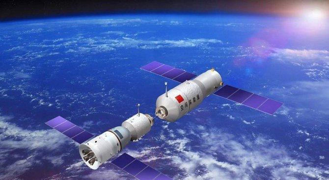 Китайското космическо ведомство планира да изведе от орбита космическия си