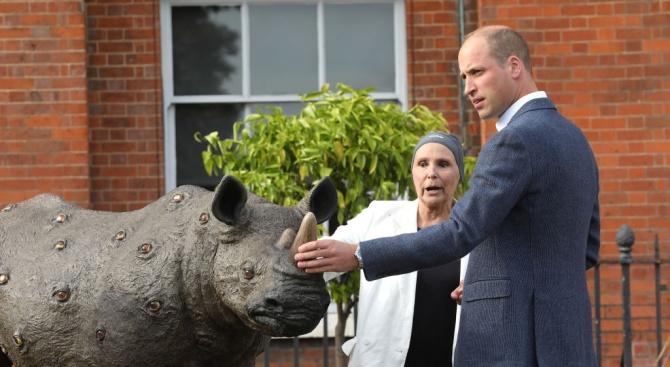 Британският принц Уилям посвещава посещението си в Африка тази седмица
