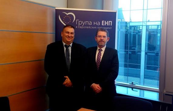 Българският евродепутат от ЕНП-ГЕРБ Емил Радев проведе работна среща с