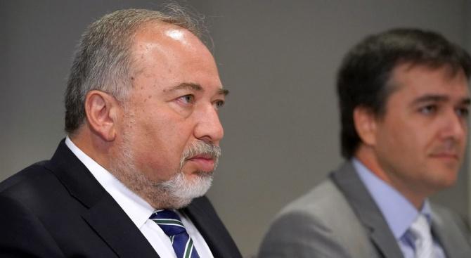 Израелският министър на отбраната Авигдор Либерман реагира с равнодушие на