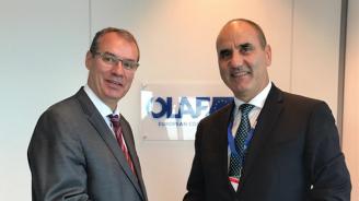 Цветан Цветанов се срещна с генералния директор на ОЛАФ Виле Итала