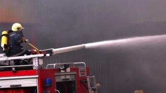 Пожар горя в русенско училище