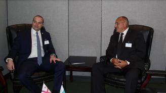 Борисов: България напълно подкрепя европейската и евроатлантическата перспектива на Грузия (снимки)