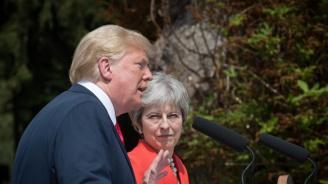 Мей ще обсъжда с Тръмп Брекзит и перспективите за двустранна търговска сделка
