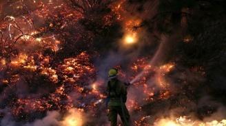 Пожарникар е пострадал при потушаване на пожар край село Мурсалево