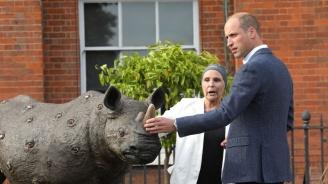 Принц Уилям посвещава визитата си в Африка на опазването на дивата природа (снимки)