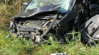 """Жестока катастрофа на АМ """"Хемус"""". Млад мъж уби  74-годишен шофьор"""