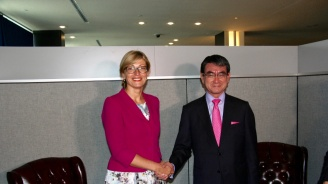 Екатерина Захариева проведе редица двустранни срещи в Ню Йорк