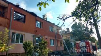 Пожарът в Божурище тръгнал от самозапалване на мъж, живеещ в блока
