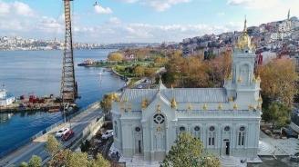 """В Истанбул се чества 120-ата годишнина на Желязнята църква """"Свети Стефан"""""""