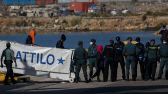 Над 460 мигранти бяха спасени от Испания