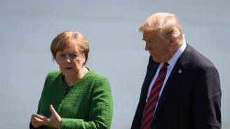 Меркел с призив към Тръмп