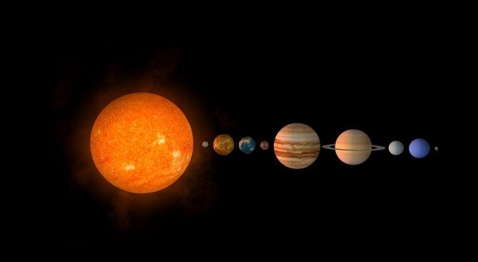 Астрономи откриха нова планета в Слънчевата система (снимка)