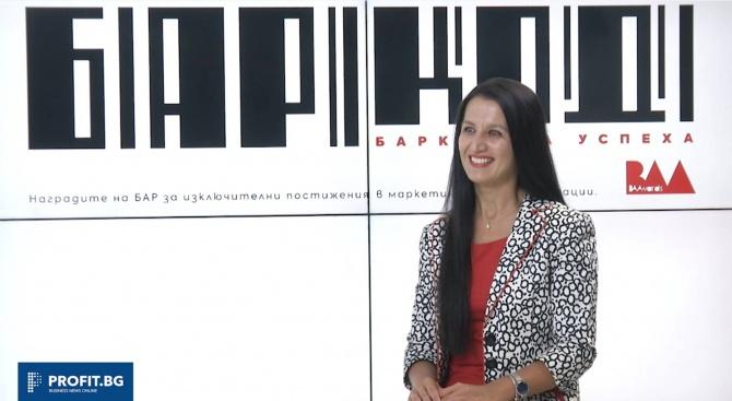 Интервю с г-жа Боряна Великова, член на журито на BAAwards 2018 (видео)