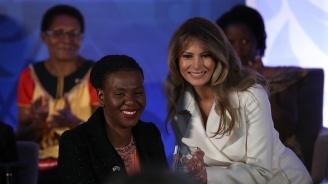 Мелания Тръмп започна посещението си в Африка от Гана