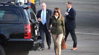 Мелания Тръмп пристигна в Египет