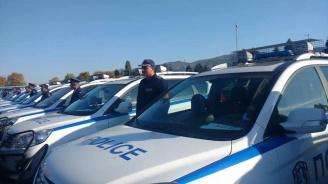 Жандармерията получи 341 нови автомобила (снимки+видео)