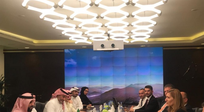 Задълбочаваме сътрудничеството си със Саудитска Арабия