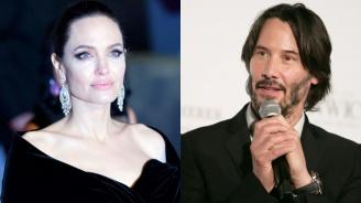 Анджелина Джоли и Киану Рийвс в афера
