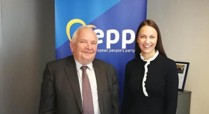 Българският евродепутат от ГЕРБ/ЕНП и председател на Международното европейско движение