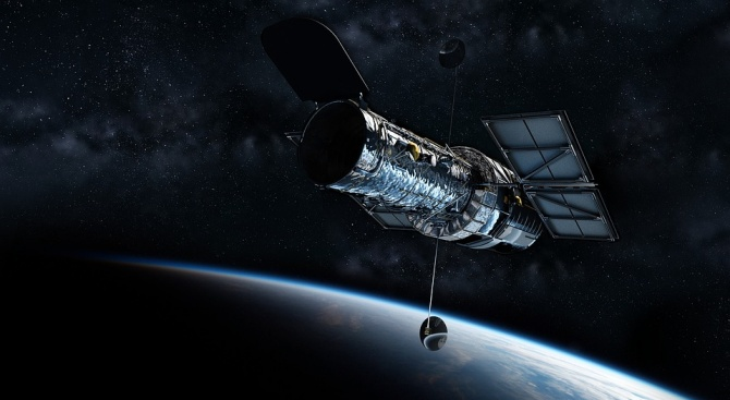 """Космическият телескоп """"Хъбъл"""", който е в орбита от 1990 г.,"""