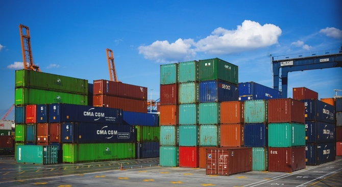 През периода януари - юли 2018 г. износът на стоки