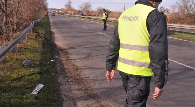 """Един човек е пострадал при катастрофата на автомагистрала """"Тракия"""", в"""