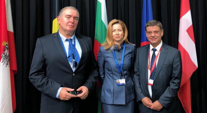 Парламентарна делегация участва в конференция във Виена