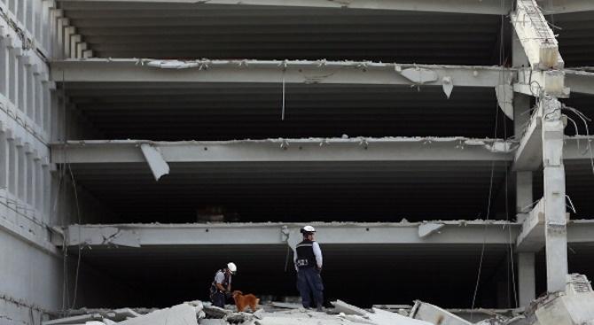 Най-малко петима загинали при инцидент на строеж в Мексико