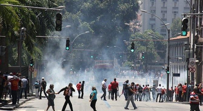Вълна от агресия във връзка с предизборната кампания в Бразилия