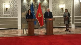 Еврокомисар Мария Габриел е на официална визита в Черна гора