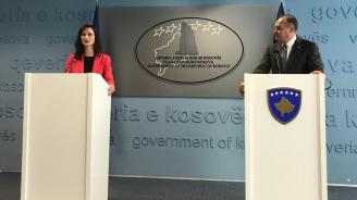 Мария Габриел насърчи Косово да идентифицира проекти за финансиране по Цифровата програма за Западните Балкани