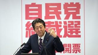 Японският премиер отново обеща, че ще промени конституцията, за да подчертае ролята на въоръжените сили