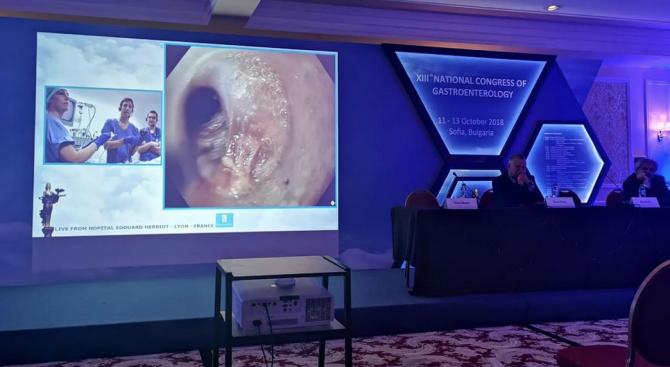 Уникални операции на конгреса по гастроентерология в София
