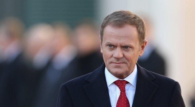 Туск: Преговорите с Великобритания се оказаха по-сложни от очакваното