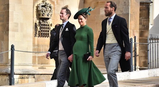 По-младата сестра на херцогиня Кейт Мидълтън – Пипа, стана майка.