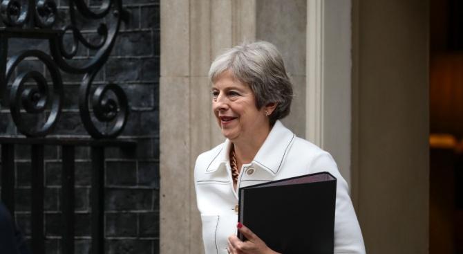 Британският премиер Тереза Мей ще изложи последните си виждания за