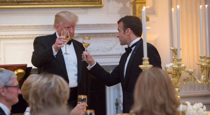 Френският президент Еманюел Макрон възнамерява да покани президентите на САЩ