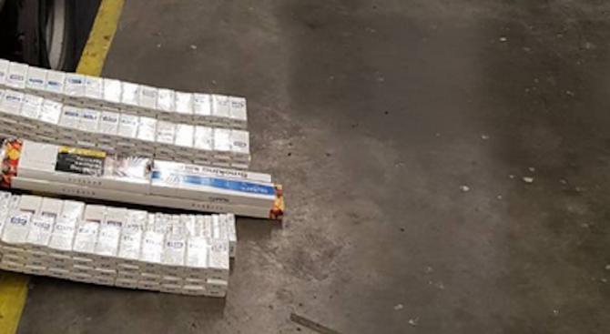 74800 къса /3740 кутии/ контрабандни цигари задържаха митническите служители на